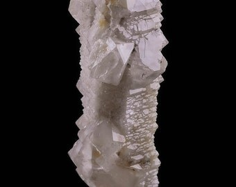 4cm Growth Interference SCEPTER QUARTZ from Russia - Raw Quartz Crystal Point, Healing Crystal, Raw Crystal Specimen, Natural Quartz 5504