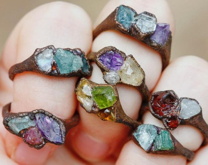 Custom Mother's Ring // Copper