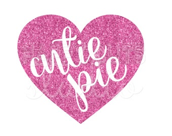 Cutie Pie or XOXO or Be Mine Conversation Hearts Valentines Day Glitter Vinyl Iron On Matching Mother Sister Daughter Baby Iron for Shirt