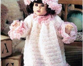 """Vintage 16"""" Katina Doll Bedtime Set"""