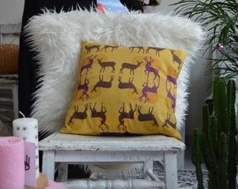"""""""My Dear Deer"""" pillow"""