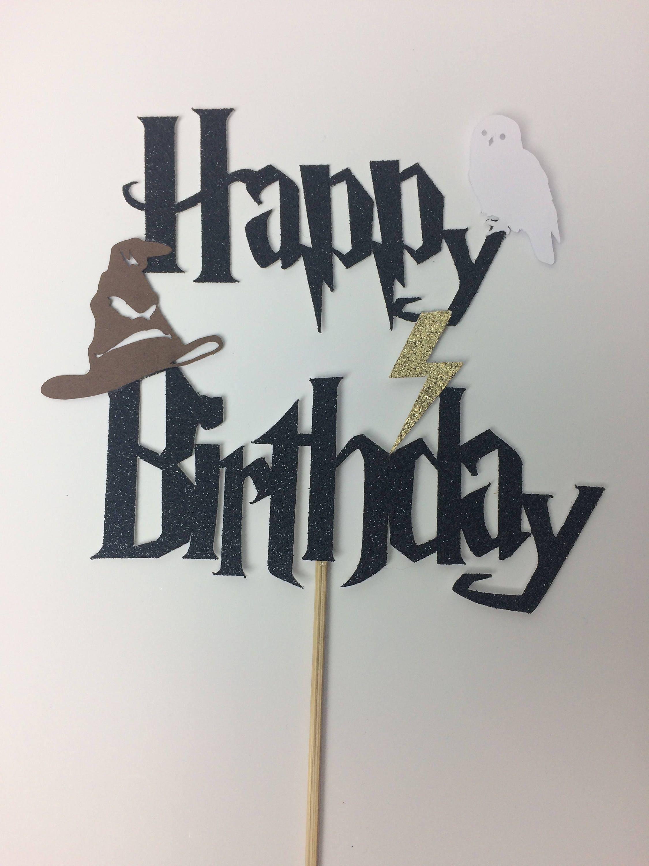 Happy Birthday Cake Harry