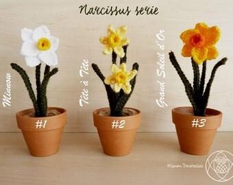Daffodil (crochet)