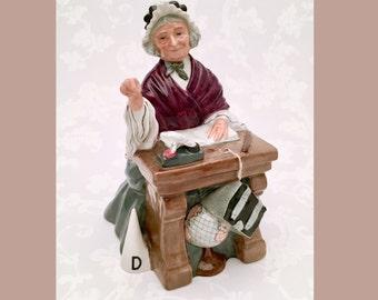 Vintage Royal Doulton 'Schoolmarm' Figurine, Model H. N. 2223, ca. 1958-1981