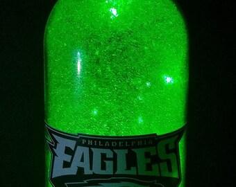 Philadelphia Eagles led bottle light, Philadelphia Eagles lighted bottle