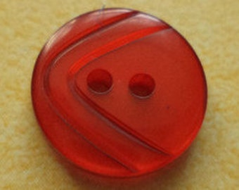 11 small buttons red 13 mm (3913) button