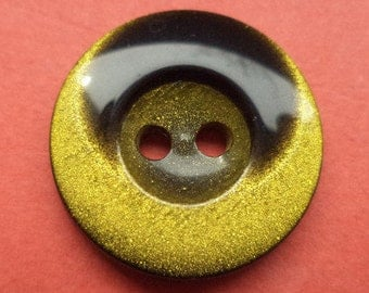 10 buttons Black Yellow 18mm (6235) button