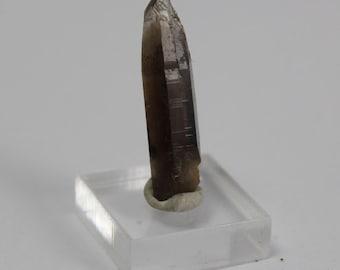 Smokey quartz crystal 6.7 ct