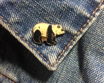 Vintage Panda Pin (stock# 767)