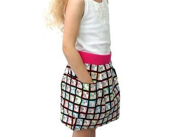 Chemistry Periodic Table Unisex Pocket Skirt