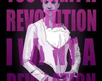 Hamilton Poster (Angelica Schuyler)