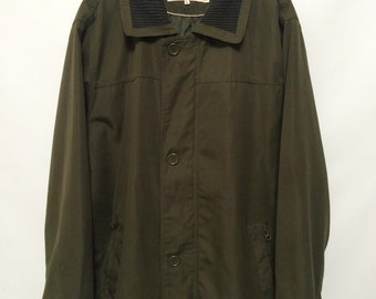 Vintage Dark Green Coat