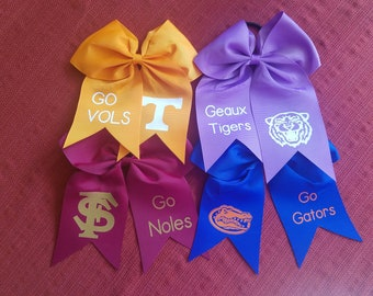 Team Cheer Bows
