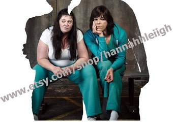 Wentworth Prison Maxine Conway and Boomer print
