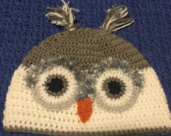 Adult Owl Hat