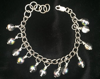 Holographic Bobble Bracelet