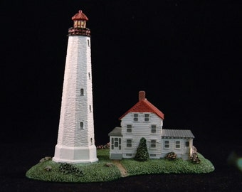 Sandy Hook Light House from the Danbury Mint