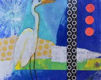 Egret at Sunrise {ORIGINAL}