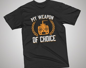 Rc Plane Weapon of Choice T-Shirt