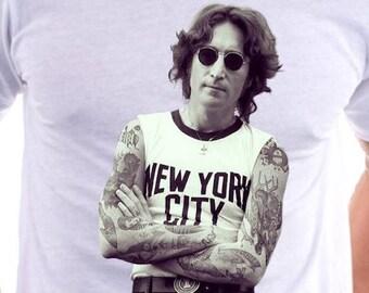 John Lennon Inked Tshirt