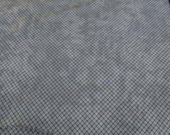 Snowman Gatherings II-Grey Sky Hatch (Pattern 1145) Cotton Fabric by Primitive Gatherings for Moda