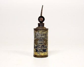 Old oil bottle/can-industrial-Vintage House decoration