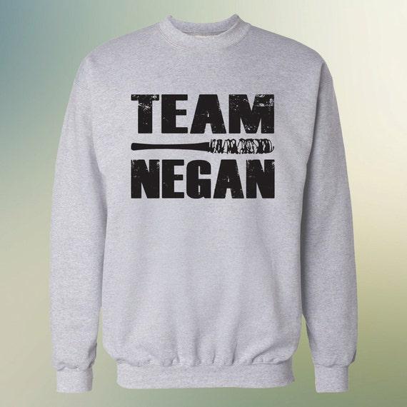"The Walking Dead ""TEAM NEGAN"" Negan Lucille Sweater S-3XL Sweatshirt"