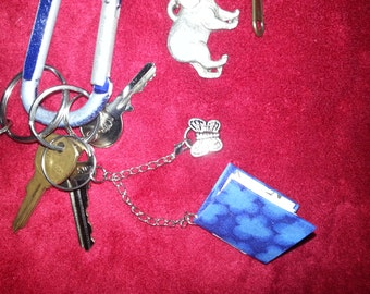 Mini Simple Book Key Chain
