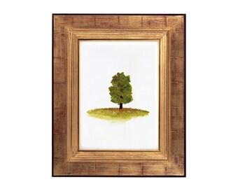 Original Tree Watercolour Print, Tree Watercolour Artwork, Original Botanical Print, Original Botanical Art, Australian Artist, Printable