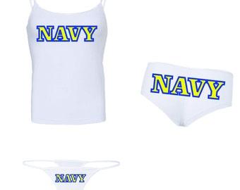 New!  Glow in the Dark NAVY Underwear Bundle Pack - Buy & Save