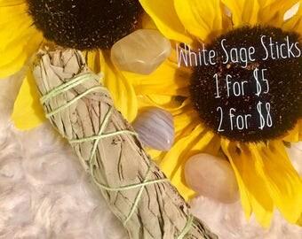 White Sage Sticks + Smudge Sticks