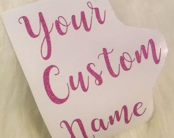 Custom Name Vinyl