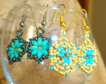 2 Pairs of SUPER DUO EARRINGS.