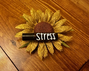 Stress Relief Essential Oil Roller--10 mL