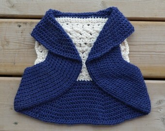 Toddler's Lace Back Vest