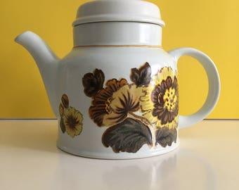Vintage Royal Doulton Forest Glen Stoneware Teapot