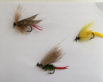 Three Fly Fishing Lures