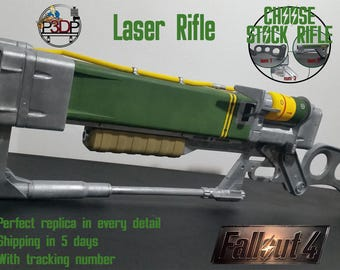 Laser Rifle Fallout 4 Replica AER9