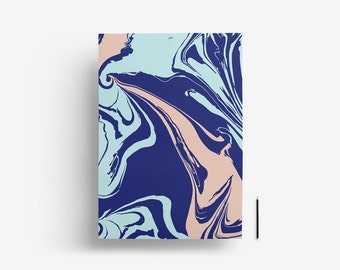 """Wrapping paper - Gift wrap - """"Minuit"""" 59,4 x 84 cm"""