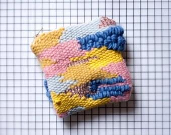 Handmade weaving wallet