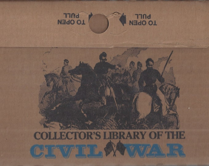 Time-Life: Collector's library of the Civil War-Four Years in Rebel Capitals LEATHER BOUND (Mint)