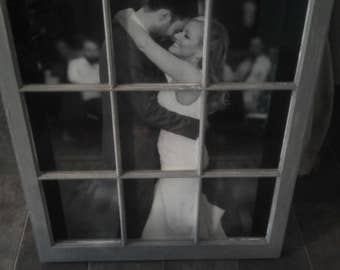 Personalized Window Picture Frame