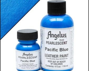 Angelus Pearlescent Paint Pacific Blue