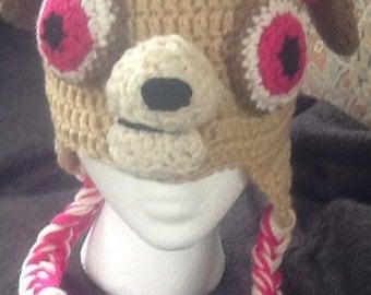 Paw patrol Skye hat, Paw Patrol, Nickelodeon hats, unique gifts, beanies