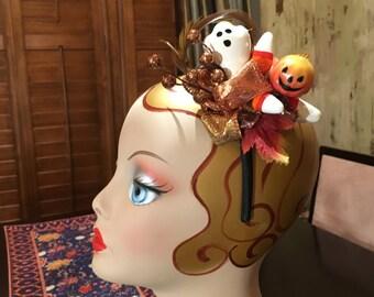 Halloween Fascinator