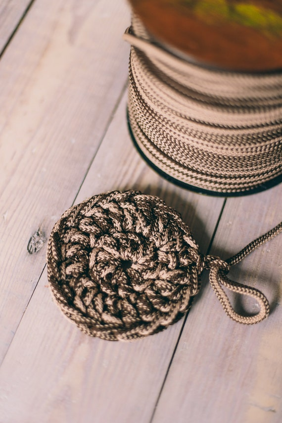 MIXED BROWN yarn, macrame cord, craft supplies, diy projects, colored rope, chunky yarn, craft yarn, rope cord, polyester cord. #4/8