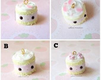 Kawaii cake charm