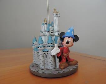 Figurine - trinket - Castle Disney - Mickey - Tinkerbell