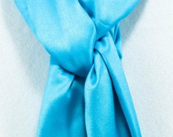 Pashmina Scarf - Pashmina Shawl - Blue Pashmina -Wedding Pashmina - Gift for Her- Gift for mom - Bridesmaid gift - Anniversary gift