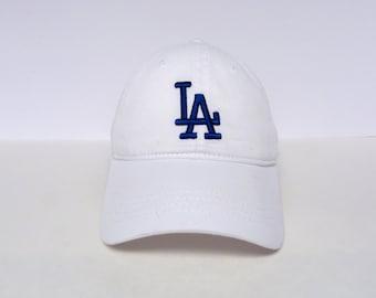LA | White Dad Hat